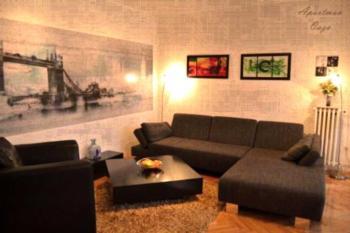 Apartment Embassy Downtown - Apartment mit 2 Schlafzimmern und Terrasse