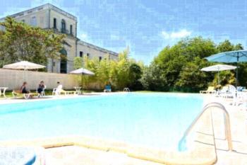 Résidence du Château de Bégué - Apartment mit Poolblick