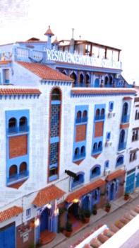 Résidence Hoteliére Chez Aziz - Apartment mit Blick auf die Berge