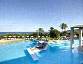 Amathus Beach Hotel Rhodes - Familiensuite mit Meerblick