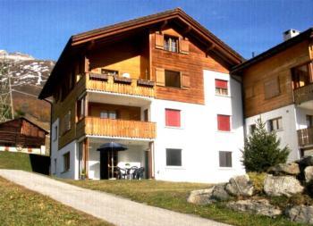 Ferienwohnung Tgèsa Garnetsch No. 1 Young, (Sedrun). Ferienwohnung mit Bad/Dusche/WC, 90 m2 für max. 8 Personen 170.01