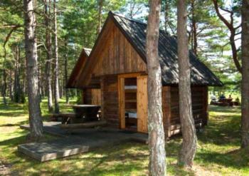 Hotell Saaremaa Camping - Vierbettzimmer