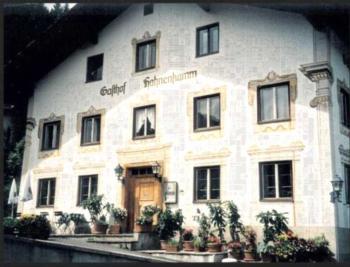 Gasthaus Hahnenkamm - Familienzimmer (2 Erwachsene + 2 Kinder)