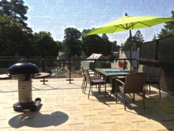Jurmala Best Apartment - Apartment mit Terrasse