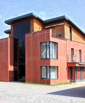 Jauku Erdvu Šilta - Apartment mit Terrasse