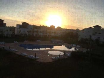 Appartement El Bahia Saidia - Apartment mit Poolblick