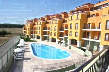 Serena Residence Aparthotel - All Inclusive - Apartament z 1 sypialnią i balkonem (2 osoby dorosłe + 2 dzieci)