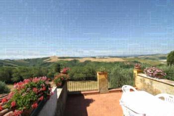Agriturismo Colle Verde - Apartment mit Terrasse