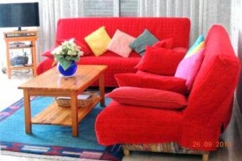 Les Pins Bleus - Antibes Juan Les Pins - Apartment mit Gartenblick