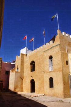 Riad Ksar El Jadida Maroc - Familienzimmer mit eigenem Bad