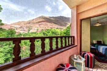 Riad Oussagou - Apartment mit 2 Schlafzimmern und Gartenblick