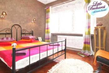 Little Bucharest Oldtown Vintage Apartment - Apartment mit 1 Schlafzimmer und Balkon