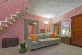 Pink House Halldis Apartment - Studio-Apartment Grazia