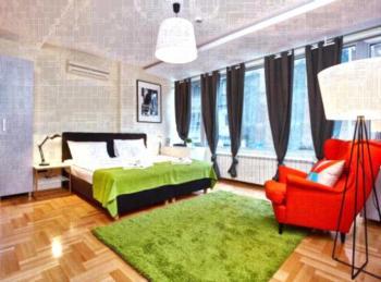 Apartments ZigZag Beograd - Apartment mit 1 Schlafzimmer und Balkon