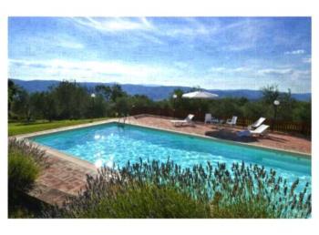 Agriturismo Frangioso - Apartment mit 1 Schlafzimmer und Gartenblick