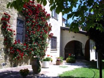 Agriturismo Il Molino della Cagnoletta - Apartment mit Poolblick