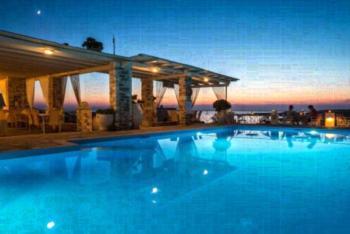 Sunset View - Apartment mit 2 Schlafzimmern und Poolblick