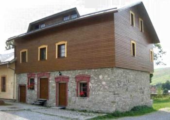 Apartmán Penziónu Hrubjak - Apartment mit Balkon