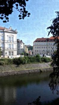 Apartment Brno - Apartment mit 1 Schlafzimmer mit Badewanne