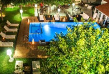 Marika's Apart's & Studios - Apartment mit 1 Schlafzimmer und Poolblick