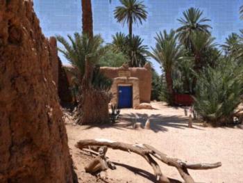 La maison saharaouie - Familienzimmer