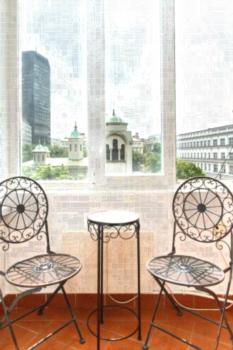 Apartment View - Studio mit Balkon