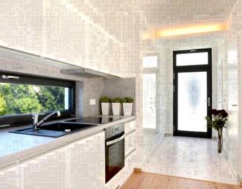 Apartmány Eden - Apartment mit Badewanne