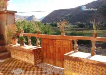 Gîte Tawada - Familienzimmer mit Bergblick
