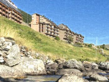 Andorra Bordes d'Envalira Apartement 2 Zimmer 4 Personen