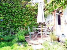 Exklusives Apartment in romantischer Villa, Garten und Frühstücksterrasse
