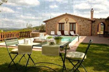 Agriturismo Ripaiani - Apartment mit 1 Schlafzimmer und Poolblick