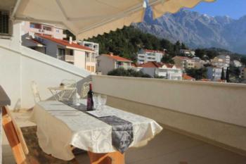 Apartament w miejscowości Baška Voda (Makarska), pojemność 4+2 osób