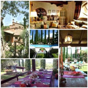 Relais Gli Ulivi - Apartment mit Gartenblick