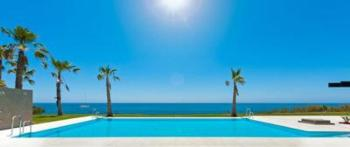 Exklusives Penthouse, direkte Strandlage, zwei Lounge-Terrassen, Meeresblick
