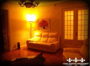 Cozy Design Apartment - Apartment mit 2 Schlafzimmern mit Badewanne