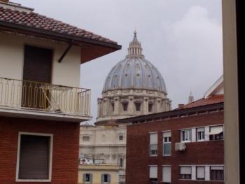 Wohnung mit spektakulärem Blick auf die Kuppel von St. Peter