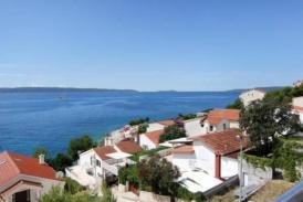 Exklusives Apartment nur 50 m zum Meer, Terrasse mit Meerespanorama