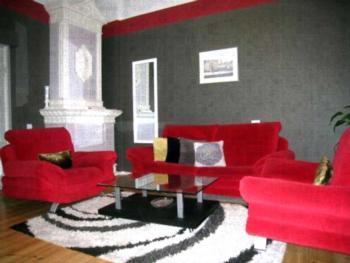 Julia Lacplesa Apartments - Superior Apartment mit 2 Schlafzimmern und Schlafsofa (5 Erwachsene)