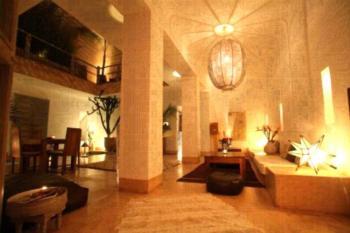 Riad De Vinci & SPA - Familienzimmer mit Badewanne