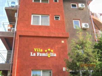 Vila La Famiglia - Apartament z 1 sypialnią i widokiem na morze