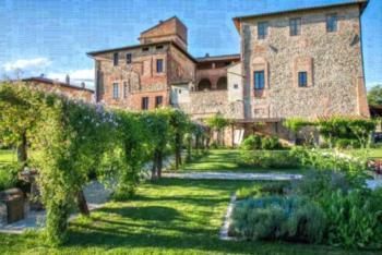 Abbazia Sette Frati Agriturismo Fratres - Apartment mit 1 Schlafzimmer und Gartenblick