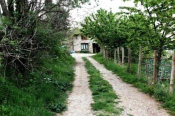 Albergue Casa Fumenal - Familienzimmer mit Bad