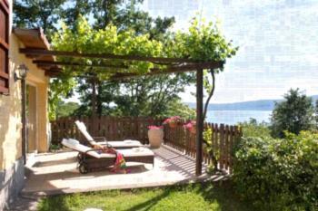 Villa la Paiola - Lago di Vico - Apartment mit Poolblick