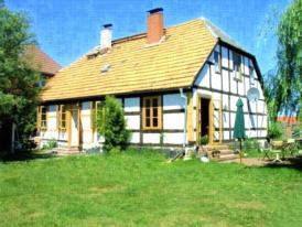 Altes Fischerhaus Godewind / 40 qm für 2 Personen / 50 m vom Stettiner Haff / deutsche Seite / Nähe Ueckermünde