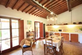 Restaurierte Scheune, Siena, Chianti