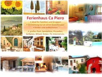 Ferienhaus Ca' Piero - ein Borgo in den Marchen  zwischen Umbrien und der Toskana