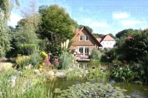 5-Sterne-Fachwerkhaus am Teich