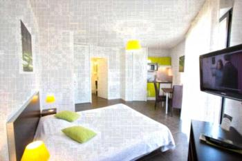 All Suites Appart Hôtel Pau - Studio (1-2 Erwachsene) mit Doppelbett