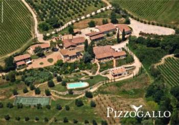 Tenuta Pizzogallo - Apartment mit 1 Schlafzimmer (3 Erwachsene)
