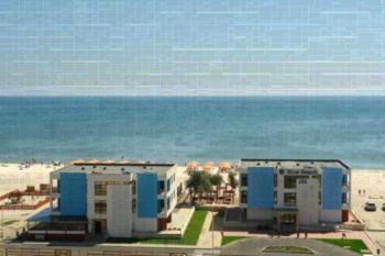 Blue Beach Studios - Apartament z balkonem i częściowym widokiem na morze (2 osoby dorosłe + 1 dziecko)